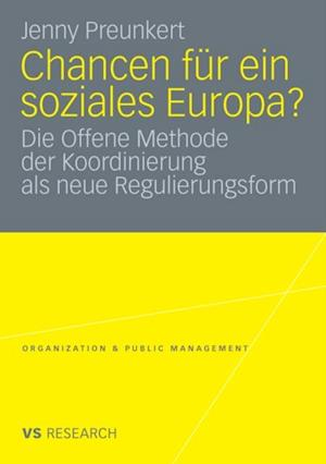 Chancen fur ein soziales Europa? af Jenny Preunkert