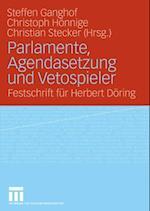 Parlamente, Agendasetzung und Vetospieler