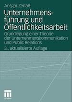 Unternehmensfuhrung und Offentlichkeitsarbeit af Ansgar Zerfa