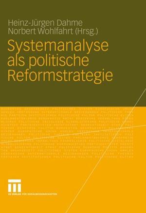Systemanalyse als politische Reformstrategie