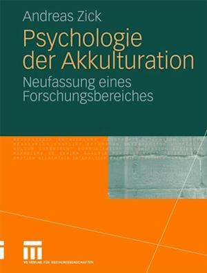 Psychologie der Akkulturation af Andreas Zick