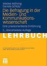 Die Befragung in der Medien- und Kommunikationswissenschaft af Wiebke Mohring, Daniela Schlutz
