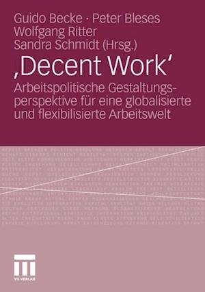 ,Decent Work'