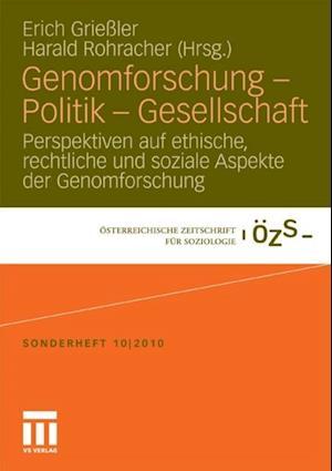Genomforschung - Politik - Gesellschaft