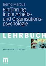 Einfuhrung in die Arbeits- und Organisationspsychologie af Bernd Marcus