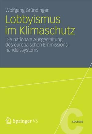 Lobbyismus im Klimaschutz af Wolfgang Grundinger
