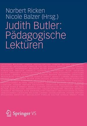 Judith Butler: Padagogische Lekturen