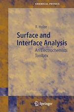 Surface and Interface Analysis (SPRINGER SERIES IN CHEMICAL PHYSICS, nr. 74)