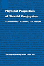 Physical Properties of Steroid Conjugates