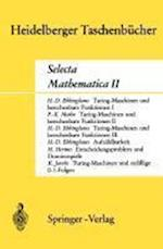 Selecta Mathematica II af H. D. Ebbinghaus, F. K. Mahn, Hans Hermes