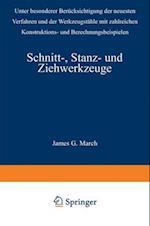 Schnitt-, Stanz- Und Ziehwerkzeuge af Gerhard Oehler, Fritz Kaiser