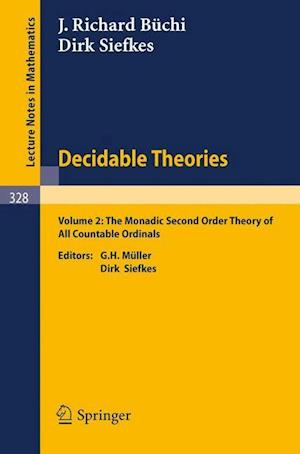 Decidable Theories : Vol. 2: The Monadic Second Order Theory of All Countable Ordinals
