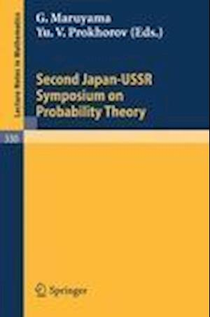 Proceedings of the Second Japan-USSR Symposium on Probability Theory