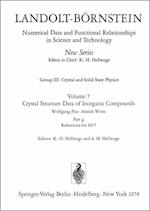 References for III/7 / Literaturverzeichnis Fur III/7 (Landolt-Bornstein: Numerical Data and Functional Relationships in Science and Technology - New Series / Condensed Matter, nr. 7)