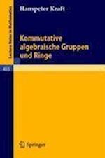Kommutative Algebraische Gruppen Und Ringe af H. Kraft