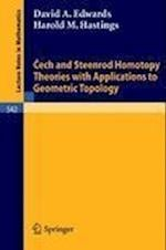Cech and Steenrod Homotopy Theories with Applications to Geometric Topology af Edwards
