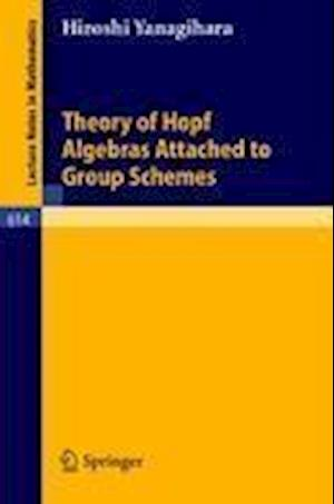 Theory of Hopf Algebras Attached to Group Schemes