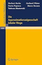 Die Approximationseigenschaft Lokaler Ringe af D. Popescu, H. Kurke, G. Pfister