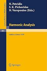 Harmonic Analysis 1978 (Lecture Notes in Mathematics, nr. 781)