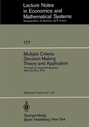 Multiple Criteria Decision Making Theory and Application : Proceedings of the Third Conference Hagen/Königswinter, West Germany, August 20-24, 1979
