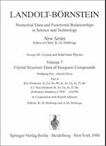 Key Elements: B, Al, Ga, In, Tl, Be (Landolt-Bornstein: Numerical Data and Functional Relationships in Science and Technology - New Series / Condensed Matter, nr. 7)