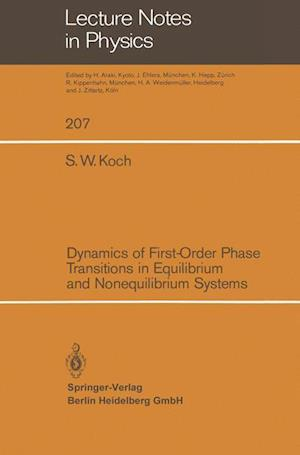 Dynamics of First-Order Phase Transitions in Equilibrium and Nonequilibrium Systems