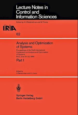 Analysis and Optimization of Systems