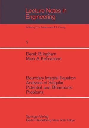 Boundary Integral Equation Analyses of Singular, Potential, and Biharmonic Problems