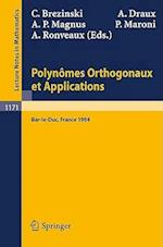 Polynomes Orthogonaux Et Applications (Lecture Notes in Mathematics, nr. 1171)