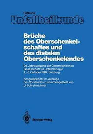 Schreinl Hefte Unfallheilkunde He DES Oberschenkelschaftes