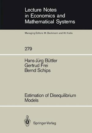 Estimation of Disequilibrium Models