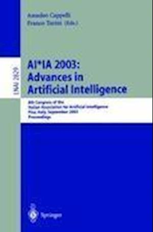 AI*IA 2003: Advances in Artificial Intelligence : 8th Congress of the Italian Association for Artificial Intelligence, Pisa, Italy, September 23-26, 2