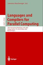 Languages and Compilers for Parallel Computing (Lecture Notes in Computer Science, nr. 2958)