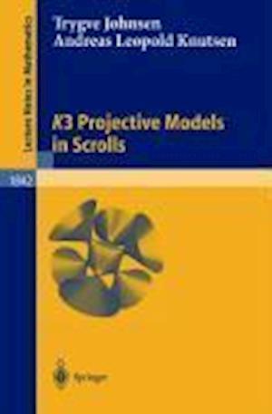 K3 Projective Models in Scrolls