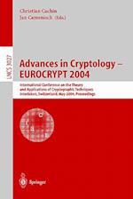 Advances in Cryptology (Lecture Notes in Computer Science, nr. 3027)