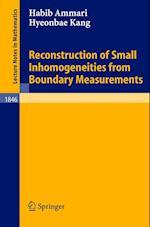 Reconstruction of Small Inhomogeneities from Boundary Measurements af Habib Ammari, Kang Hyeonbae