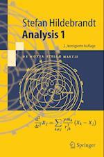 Analysis 1 af Stefan Hildebrandt
