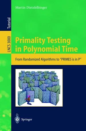 Primality Testing in Polynomial Time