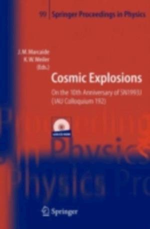 Cosmic Explosions
