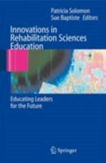 Innovations in Rehabilitation Sciences Education