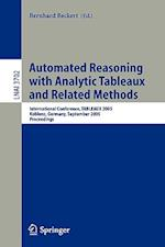 Automated Reasoning with Analytic Tableaux and Related Methods (Lecture Notes in Computer Science, nr. 3702)