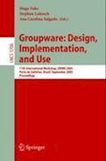 Groupware: Design, Implementation, and Use (Lecture Notes in Computer Science / Information Systems and Applications, Incl. Internet/web, and Hci, nr. 3706)