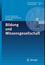 Bildung Und Wissensgesellschaft (Heidelberger Jahrbucher, nr. 49)