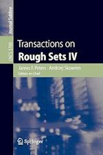 Transactions on Rough Sets af Peter