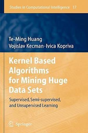 Kernel Based Algorithms for Mining Huge Data Sets
