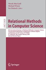 Relational Methods in Computer Science (Lecture Notes in Computer Science)