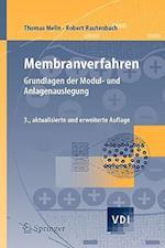 Membranverfahren af Thomas Melin, Robert Rautenbach