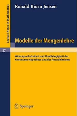 Modelle der Mengenlehre af R. B. Jensen