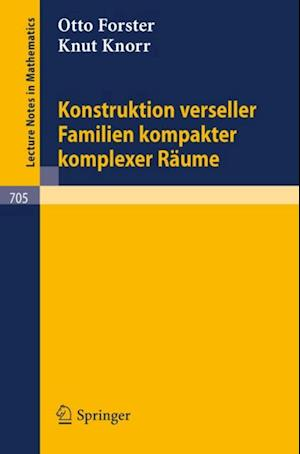 Konstruktion verseller Familien kompakter komplexer Raume af Knut Knorr, Otto Forster