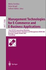 Management Technologies for E-Commerce and E-Business Applications (Lecture Notes in Computer Science)